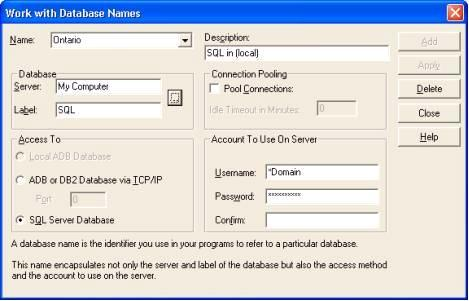 Porting AVR  NET Applications to Employ ASNA DataGate for